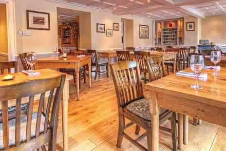 Oddfellows at Mellor - Excellent meal and bubbly for Two - Save 52%