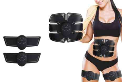 Groupon Goods Global GmbH - Apachie Muscle Stimulator Set for ABS, Arms and Legs - Save 78%