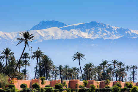 Bargain Late Holidays - Five Star Escape with a two, three, four, five or seven nights getaway to Marrakech Now with the ability to choose your flight - Save 0%