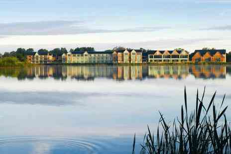 De Vere Cotswold Water Park - Overnight stay for two with spa access, £28pp dining allowance, breakfast, late checkout and a 25 minute spa treatment each - Save 38%