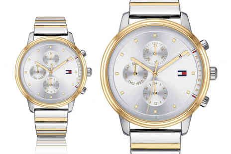 Best Watch Company - Tommy Hilfiger 1781908 ladies blake two tone chronograph watch - Save 72%