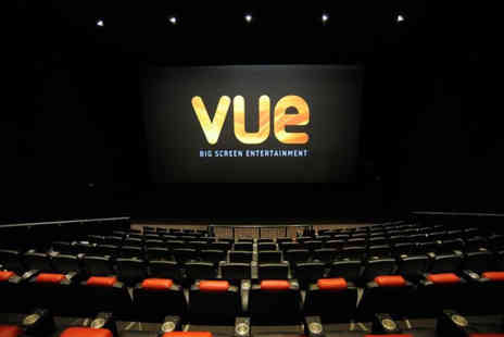 Vue - Two 2D cinema tickets choose to use in one visit or across separate dates - Save 68%