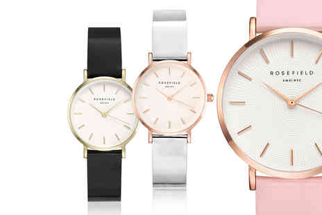 Brand Arena - Rosefield watch choose from five designs - Save 70%