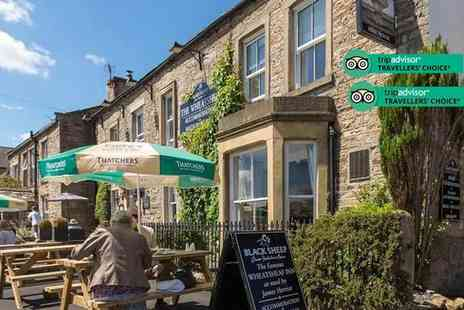 The Wheatsheaf in Wensleydale - Two nights Yorkshire break for two people with breakfast - Save 55%