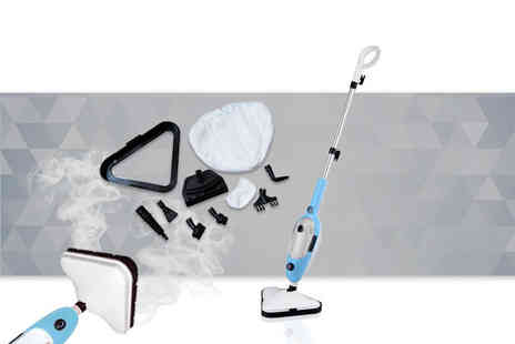 Direct Vacuums - Vytronix stm01 10 in 1 1300w multifunction steam mop - Save 59%