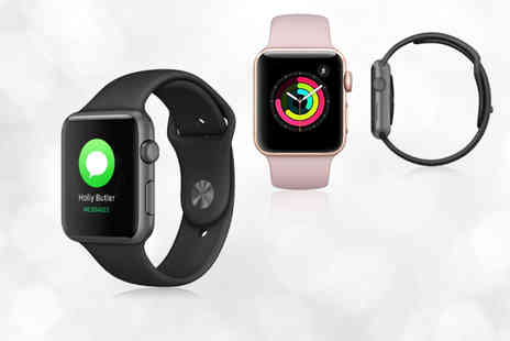 ugoagogo - Refurbished 16GB Apple Watch S3 with an optional spare strap choose from three colours - Save 42%