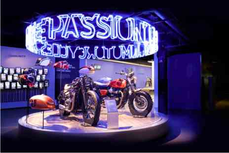 Virgin Experience Days - Triumph Motorcycle Factory Tour with Coffee and Cake for Two - Save 0%