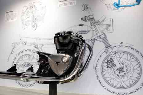Virgin Experience Days - Family Triumph Motorcycle Factory Tour - Save 0%