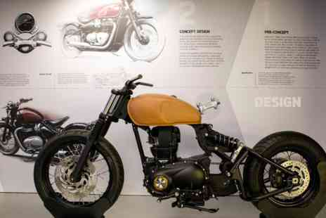 Virgin Experience Days - Triumph Motorcycle Factory Tour for Two - Save 0%