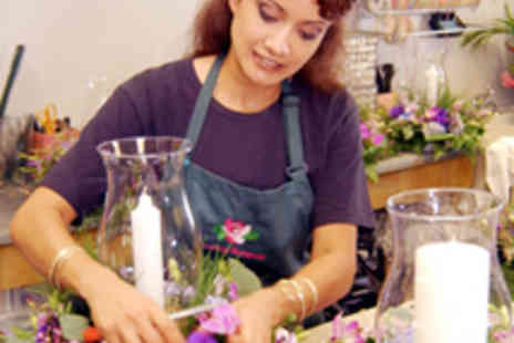 Bunches and Pots - Flower Arranging Class - Save 52%