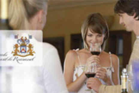 Vicomte Bernard de Romanet - Home wine tasting for up to six people - Save 81%
