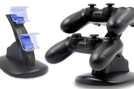 Groupon Goods Global GmbH - PS4 Controller Docking Station - Save 0%