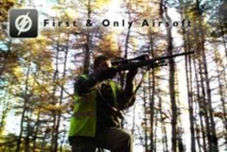 First and Only Airsoft - Airsoft Combat With Lunch and Ammo - Save 60%