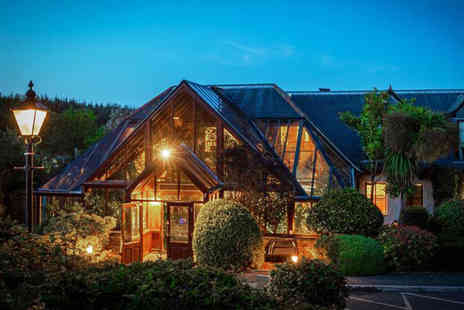 Hustyns Hotel and Spa - Overnight stay for two people with breakfast, a two course dinner, bottle of Prosecco and spa access - Save 42%