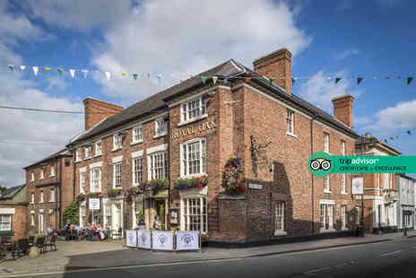 The Royal Oak Hotel - Overnight Welshpool getaway for two people with breakfast, glass of Prosecco and 12pm late checkout - Save 0%
