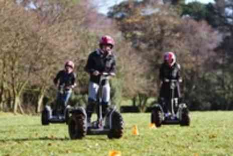 MADrenaline - 1 Hour Segway Obstacle Course With Madrenaline Activities. 63% off! - Save 62%