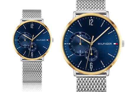 Best Watch Company - Tommy Hilfiger mens Brooklyn chronograph watch - Save 72%