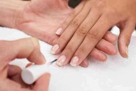 Hairs and Graces - Mini Manicure or Pedicure, or Both - Save 35%