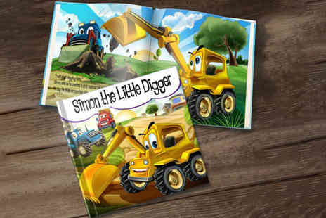 Dinkleboo - Soft back personalised The Little Digger story book - Save 67%