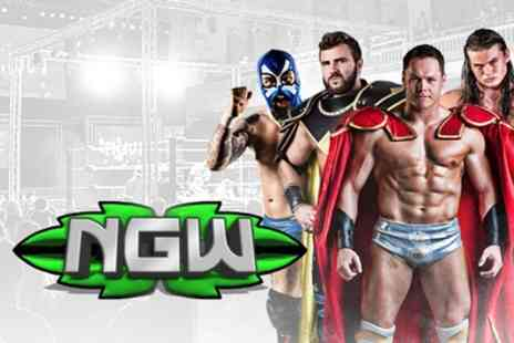 New Generation Wrestling - Adult or Family Ticket from 20th December To 21st March - Save 46%