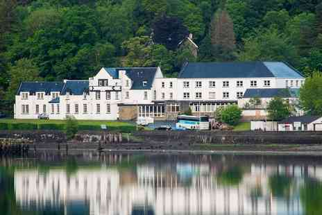 The Arrochar Hotel - Overnight stay for two people with breakfast, £30 food and beverage voucher and late checkout - Save 32%