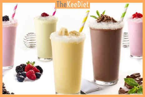 The KeeDiet - Four week intermittent fasting plan with a weight tracker and meal replacement shakes - Save 51%