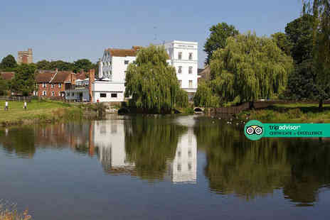 The Mill Hotel - Overnight Suffolk break for two people with breakfast, three course dinner, bottle of wine and late check out - Save 60%