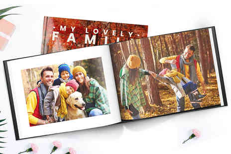 Printerpix - 30 page A5 hardback photo book choose your option - Save 0%
