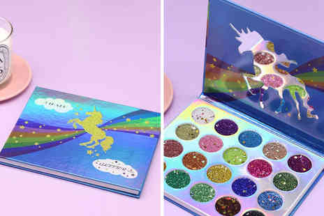 Litnfleek - 20 colour unicorn glitter palette - Save 83%