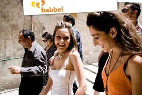 Babbel.com - Six Month Online Course in Choice of Seven Languages - Save 70%