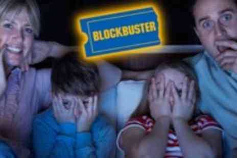 Blockbuster - Three Months Unlimited Movie & Game Rentals - Save 67%