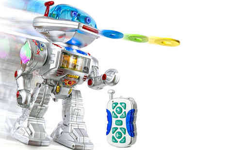 Spire Tech - Remote control toy robot - Save 80%
