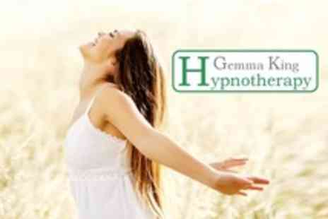 Gemma King Hypnotherapy - Two Hypnotherapy Sessions - Save 63%