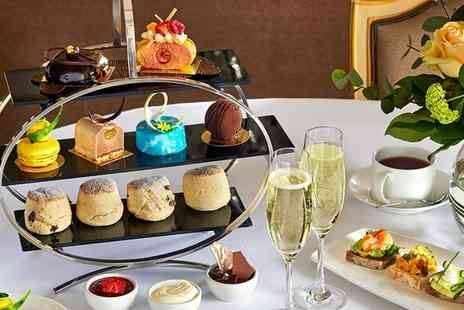 Hilton Park Lane - Five star Mayfair hotel champagne afternoon tea for Two - Save 50%