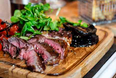 Amba Marble Arch - Steak meal and bottle of wine for Two - Save 53%