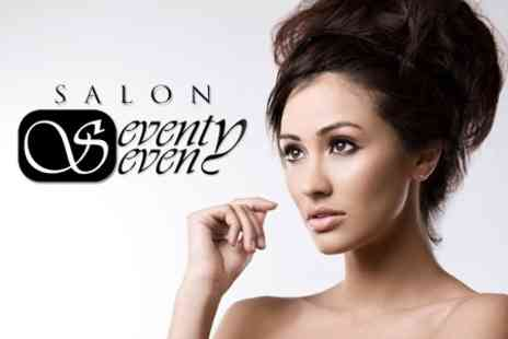 Salon Seventy Seven - Cut and Blow Dry With Choice of Conditioning Treatment - Save 60%