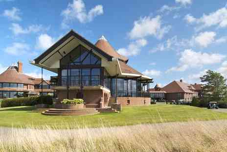East Sussex National Resort - Afternoon tea, bubbly and treatments for Two - Save 0%