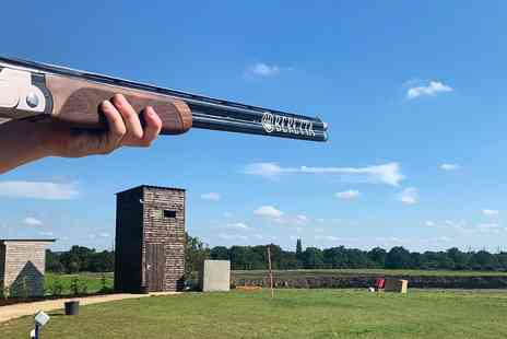 Lea Marston Shooting Club - Clay pigeon shooting for Two - Save 18%