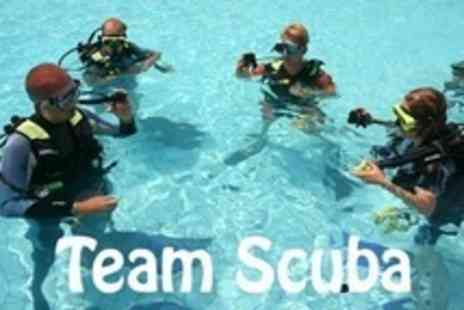 Team Scuba - PADI Open-Water Referral Course - Save 66%