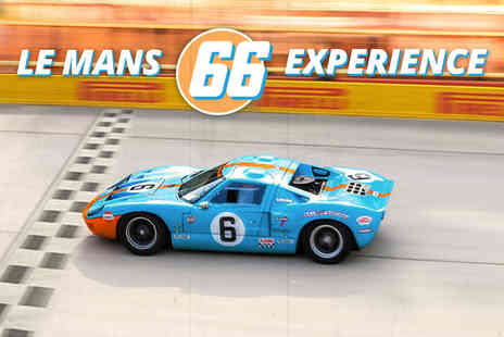 Car Chase Heroes - Three lap driving experience in a Le Mans GT40 - Save 51%