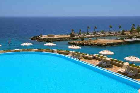 Albatros Citadel Resort - Five Star All Inclusive Elegance on the Shores of the Red Sea and Optional Nile Cruise for two - Save 31%