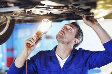 Colins MOT & Service Centre - Check with Fluid Top Up or Change for Up to Four Tyres - Save 0%