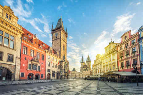 Weekender Breaks - Four Star Four nights Prague and Budapest trip with train transfers and flights or a six nights stay - Save 49%