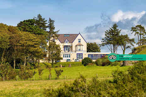 Gwesty Gadlys Hotel - Two nights North Wales coastal stay with two course dinner and a glass of wine or single measure of spirit on the first night, and breakfast - Save 25%