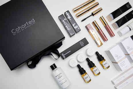 Cohorted - Limited edition Christmas 2019 Beauty Box from Cohorted get premium products - Save 58%