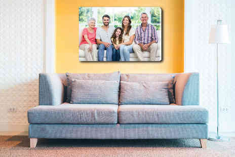 Deco Matters - Personalised A1 canvas spruce up your home - Save 85%