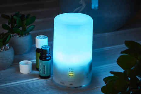 CJ Offers - Aroma diffuser with a 12 pack of fragrance oils - Save 0%