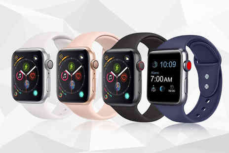 ugoagogo - Refurbished 16GB aluminium Apple Watch S4 choose from two sizes and three colour options - Save 25%