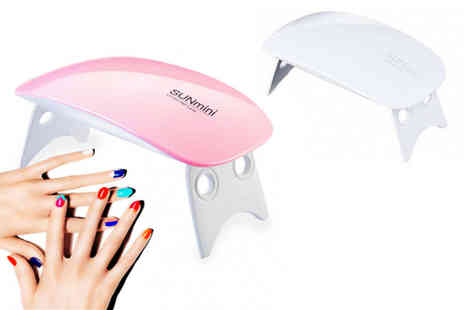 Yello Goods - Portable mini Led lamp nail dryer choose your colour - Save 0%