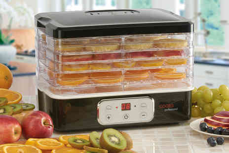 CJ Offers - Cooks Professional food dehydrator - Save 57%